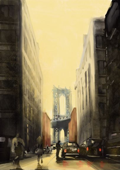 Tim Griffiths, Brooklyn Bridge New York