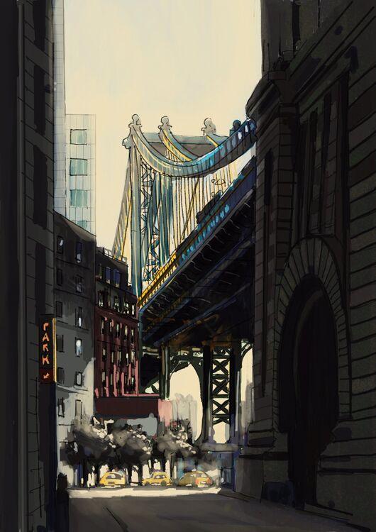 Tim Griffiths Brooklyn Bridge Manhattan New York