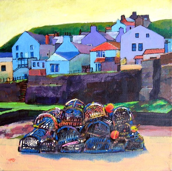 Crab Pots, Staithes -Harry Bell