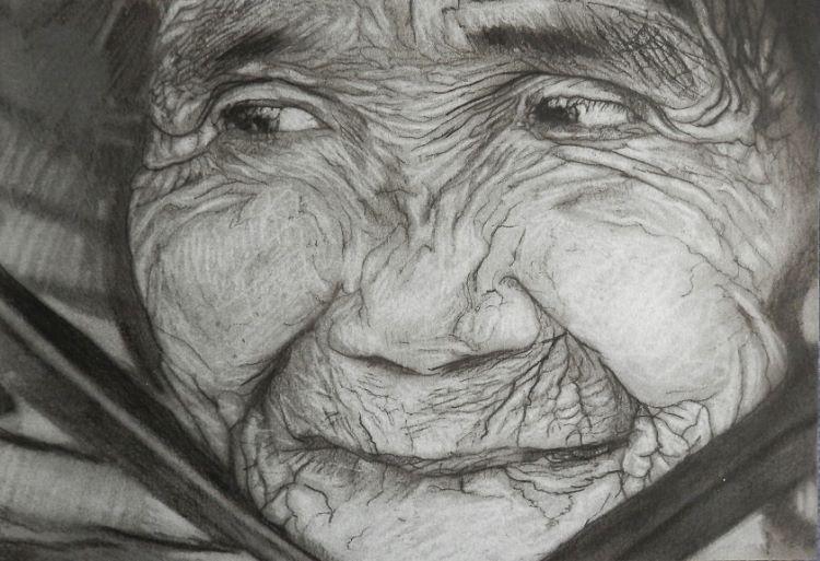 2 -Chinstrap by Doug Stephenson. -charcoal