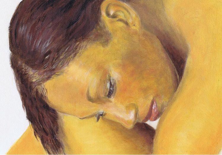 'DayDreaming' Oil by Joe Beard