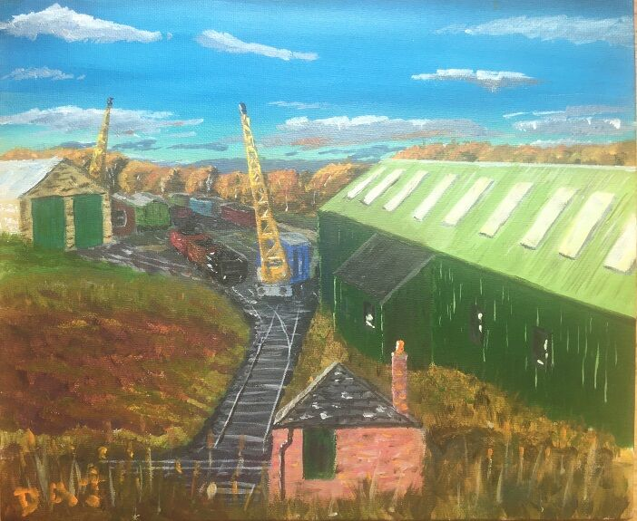 Dougie Johnston, 'Morning at Tanfield '