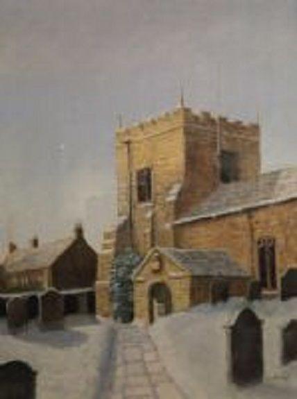 Elsdon Church by Joe Beard