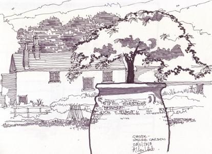 Gibside sketch Allan