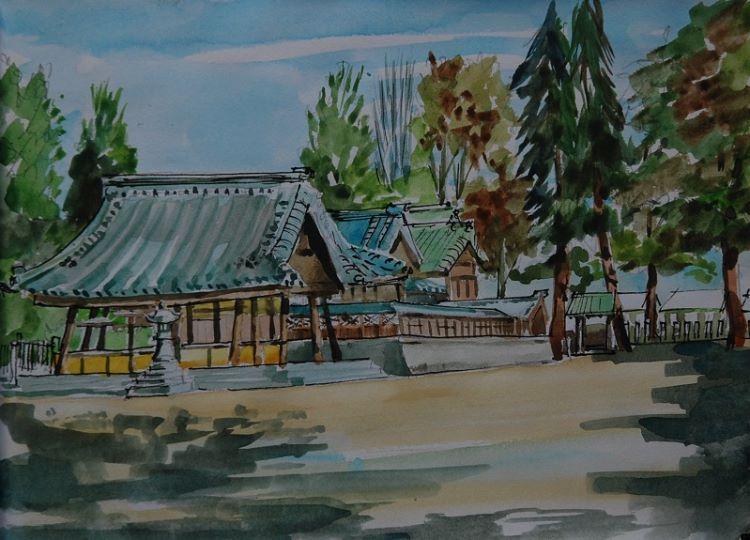 Hachimansha Temple, Nisshin