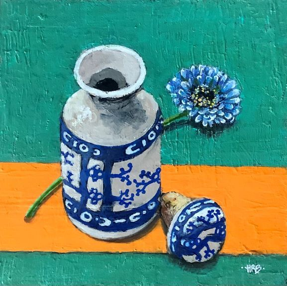 Harry Bell ' Chinese Bottle '