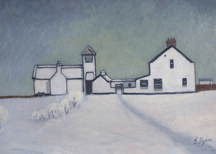 After the Snow by Jenny Dyson. -oils