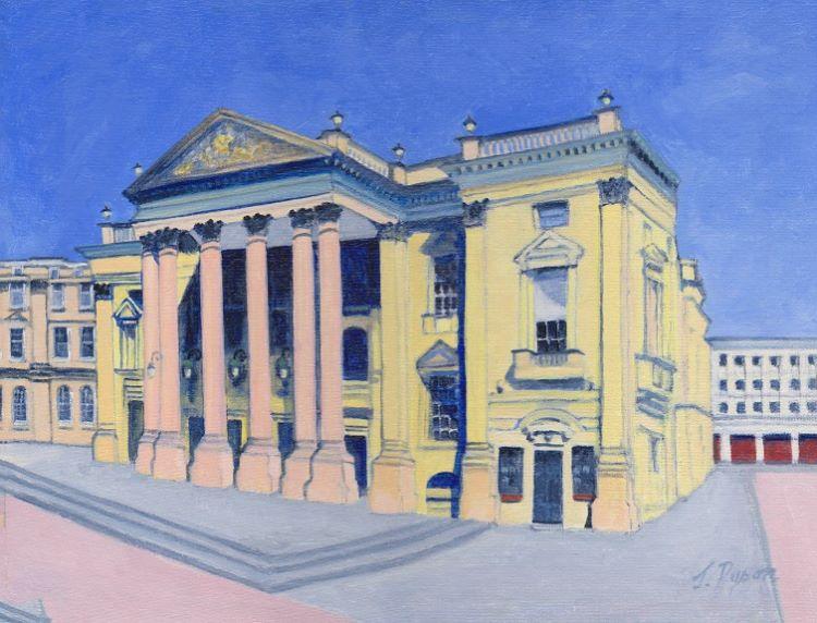 Theatre Royal 1 by Jenny Dyson, -oil