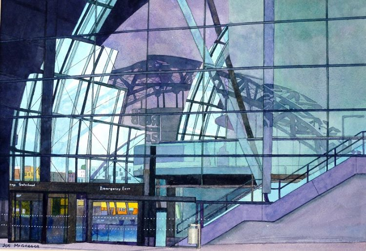 28 -The Sage Reflections by Joe McGregor. -watercolour