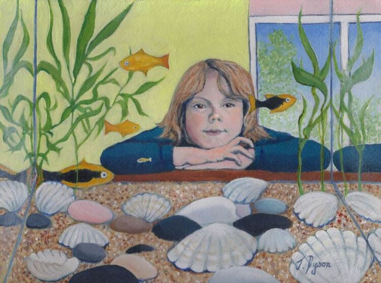 Jenny Dyson,_'Eddie and the Fish '