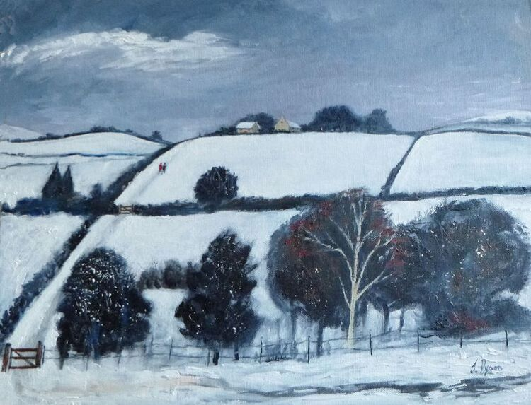 Jenny Dyson ' The Path Through the Fields '