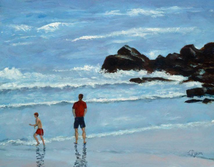 Jenny Dyson, Paddling at King Edward's Bay