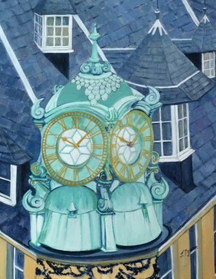 Jenny Dyson, The Waterstone's Clock
