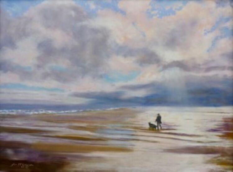 Joe McGregor, Walking the Dog, Blythe Beach
