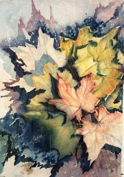 Autumnal Leaves by Michael Jackson