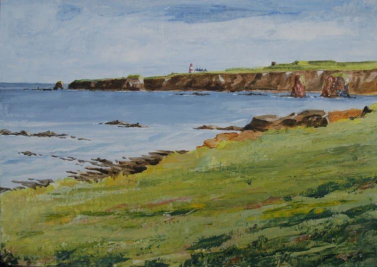 Marsden Bay & Souter by Willie Drea