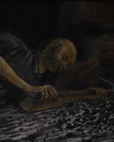 Miner in Wet Seam