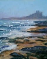 Incoming Tide at Bamburgh