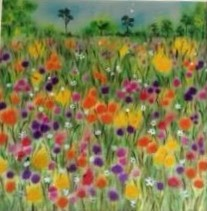 Summer Meadow by Sheila Lewis