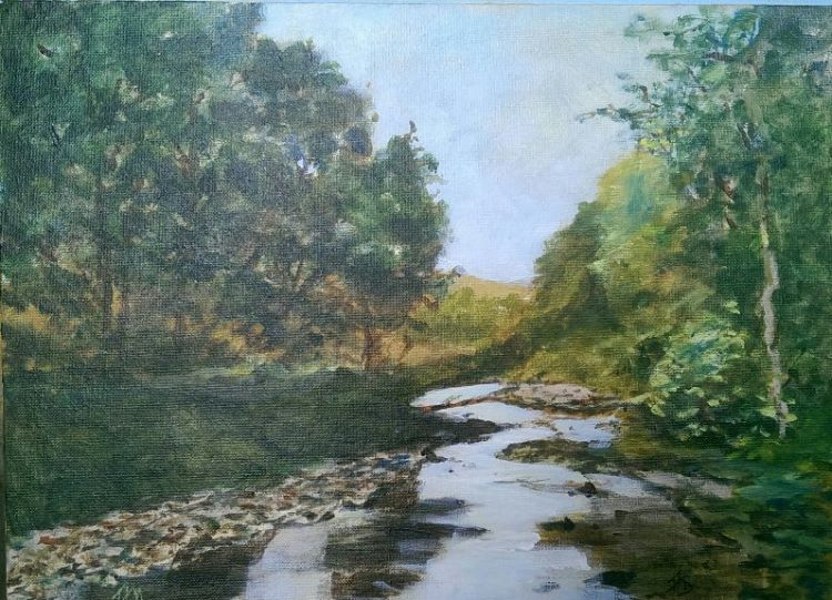 River Greta, Ingleton by Audrey Drynan