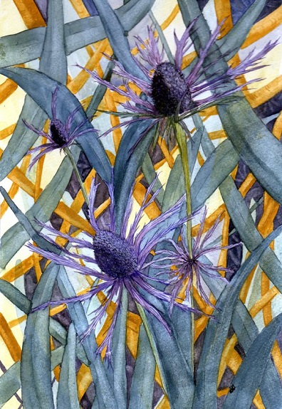 Scottish Thistle by Sheila Lewis