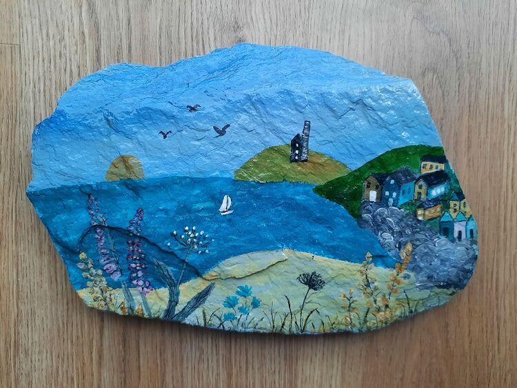 Sheila Lewis ' Impressions of Cornwall '