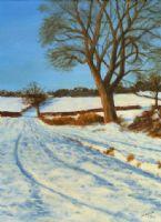 Snow Scene -John Fulthorpe