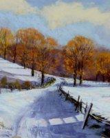 Snow at Brunholme Cumbria by Joe McGregor
