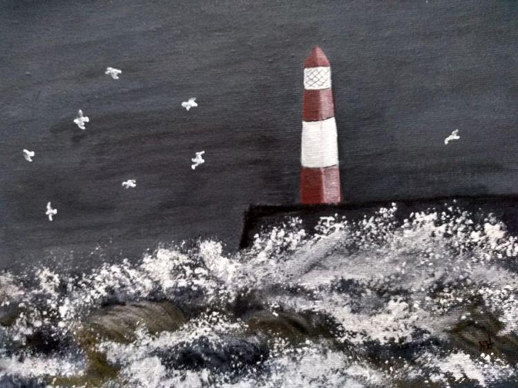 Seascape by Sheila Lewis