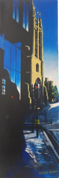 31 -St Nicholas' Cathedral by Michael Jackson, -acrylic