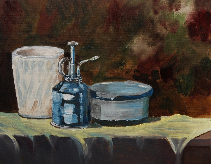 Still Life with Spray Can