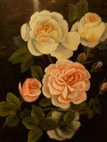 Stylised Rose by Margt Richardson