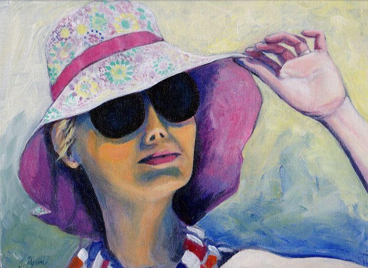Summertime by Jenny Dyson -acrylic & oil.