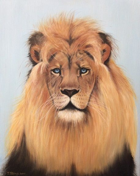 The Blue Eyed Lion575