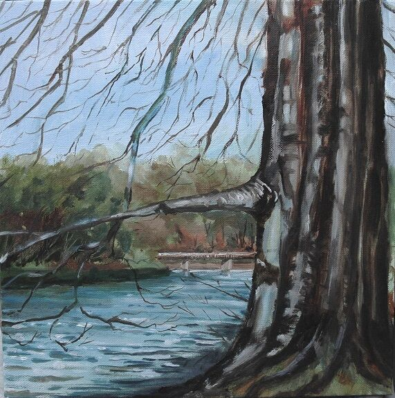 'The Bridge at Finchale' by Willie Drea