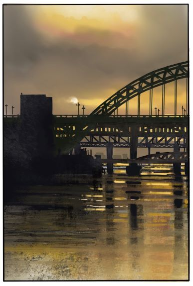 The River Tyne by Tim Griffiths