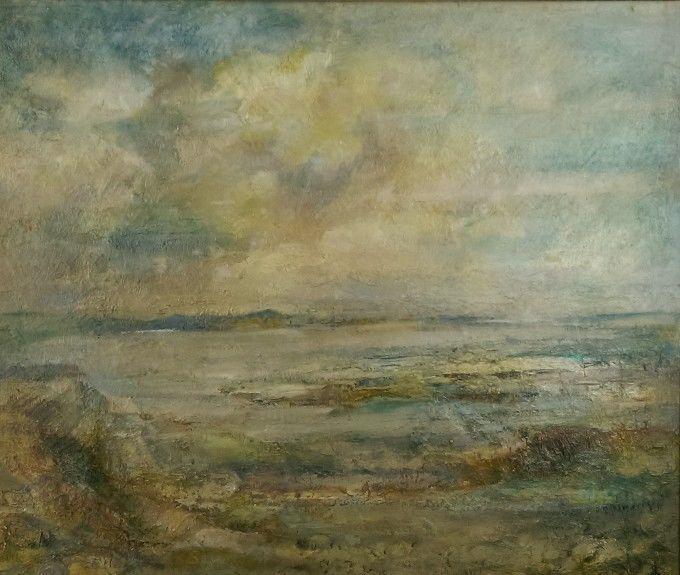 Tideturn Dunstanburgh by Karen Scott