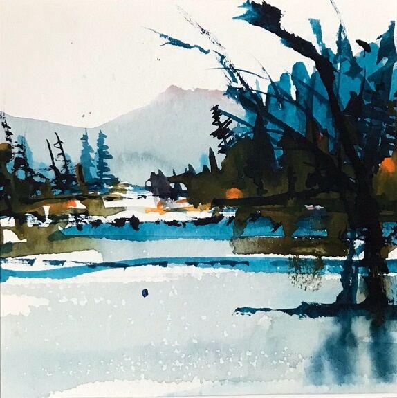 Tim Griffiths, -'A Crisp Winter's Day'