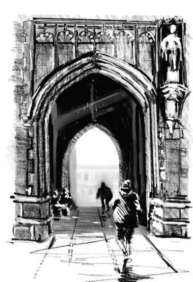 Tim Griffiths ' Newcastle University Entrance'