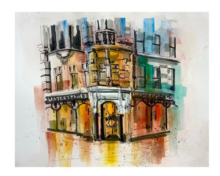 Tim Griffiths ' Gateshead High Street (back of)'