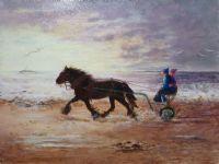 Trotting At Dawn -Alison Fereday