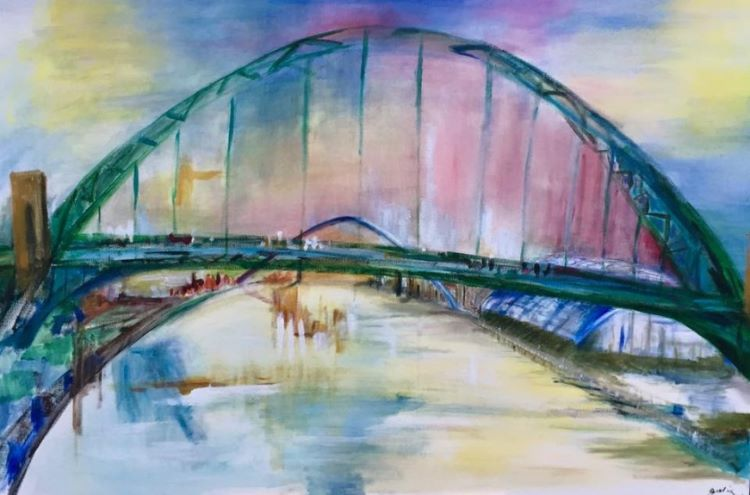 Tyne Bridges by Julie Manning