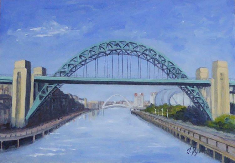 Tyne and Millennium Bridges