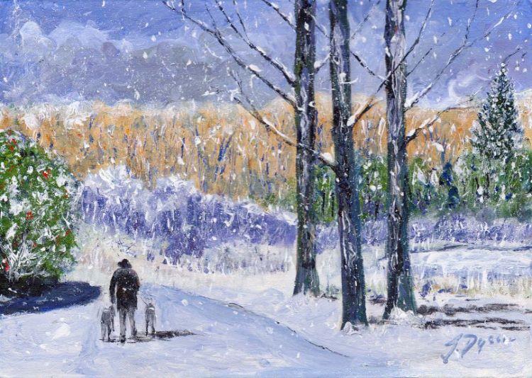Walking the Dogs, Jenny Dyson