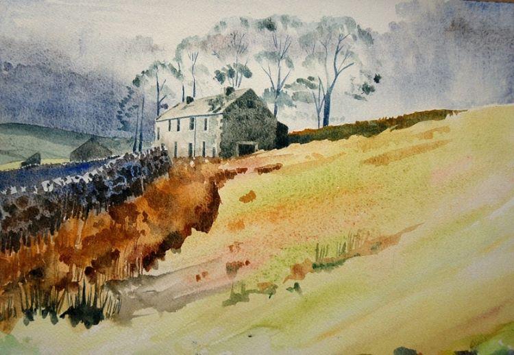 West Bewdley watercolour by Willie Drea