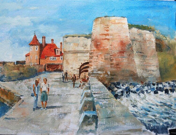 Willie Drea ' Beadnell Harbour '