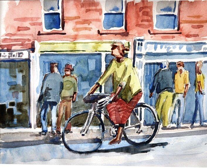 Willie Drea ' Lady on a Bike '