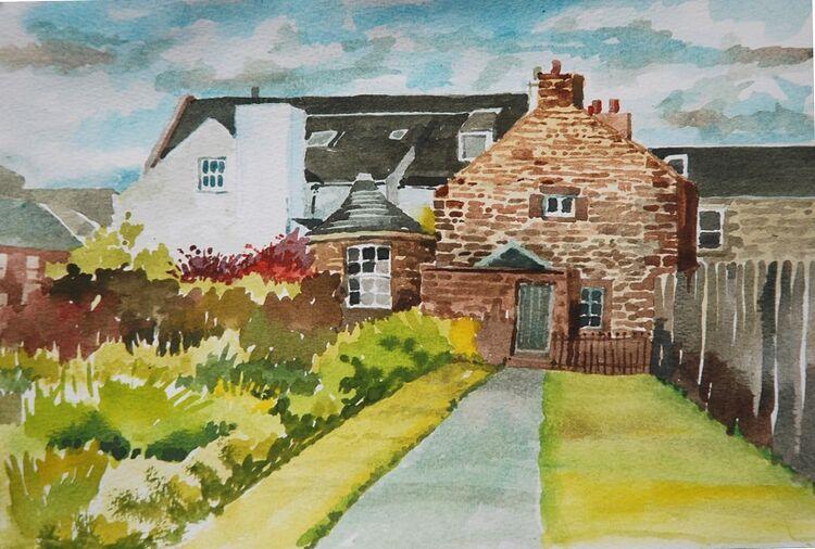 Willie Drea ' A Corner of Kirkcudbright '