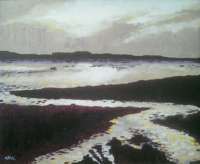 Allen White Sunset Budle Bay