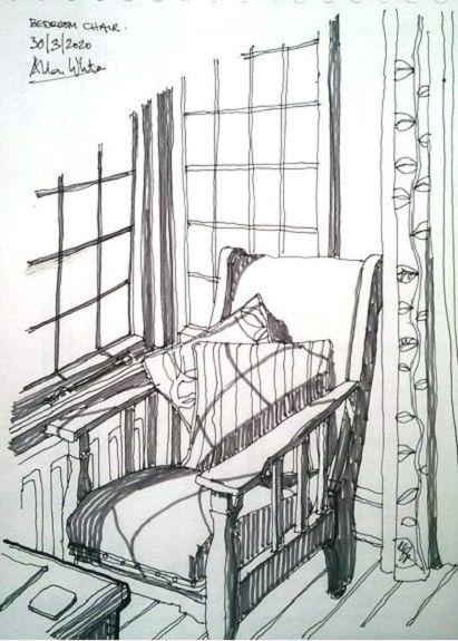 Allan White, Bedroom Chair